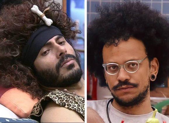 João Luiz chorou com com a comparação de Rodolffo. (Foto: Reprodução/Rede Globo)